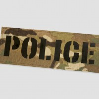 Police Identifier Velcro Patches