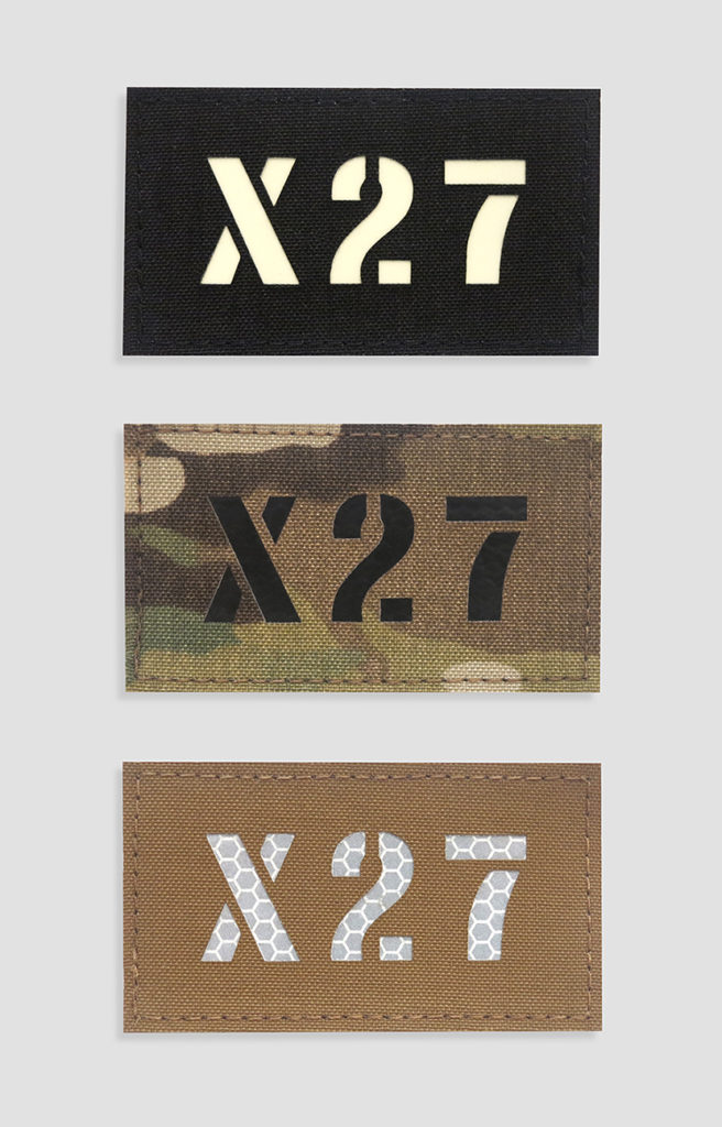 Call sign velcro patches perroz designs