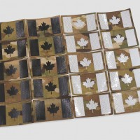Canadian Flag Velcro Patches