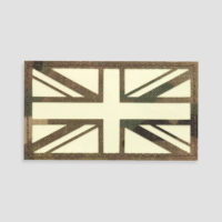 Union Jack Velcro Patches