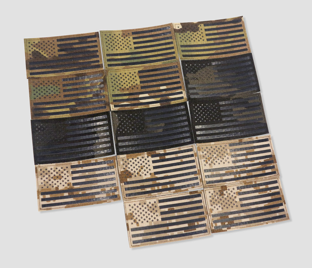 American Flag Velcro Patches Perroz Designs