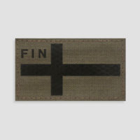 Finland Flag Velcro Patches