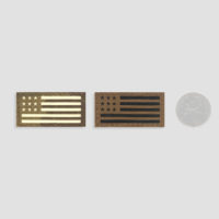 American Flag Mini Velcro Patches