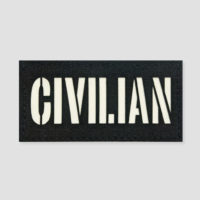Civilian Identifier Velcro Patches