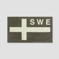 Swedish Flag Velcro Patches