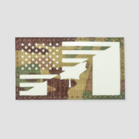 USA/Canada Flag Velcro Patches