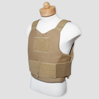 Concealable Soft Body Armor Carrier